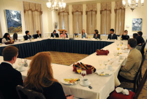 Vital Voices Interview at the Cosmos Club