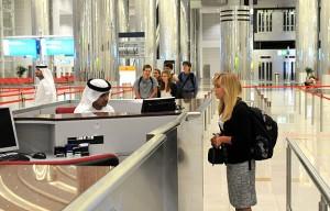 Arrival in Dubai 1