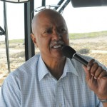 Our Guide on the Bus - Robben Island