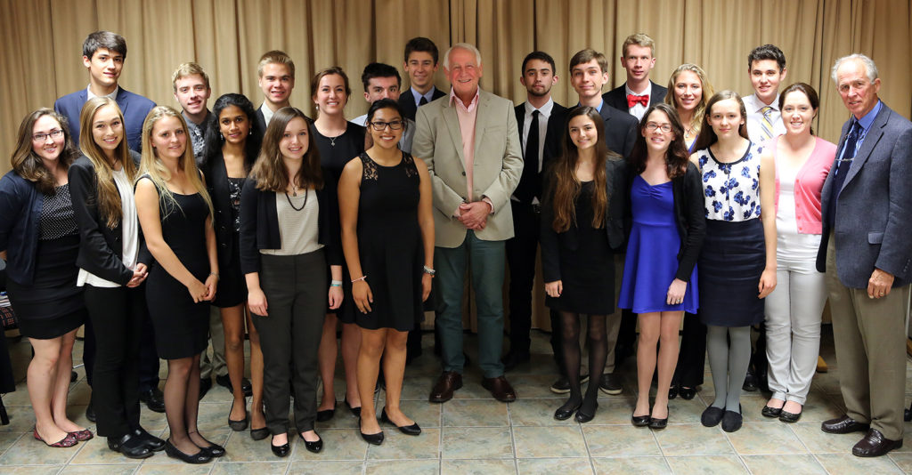 Mount Madonna students with Dave Steward