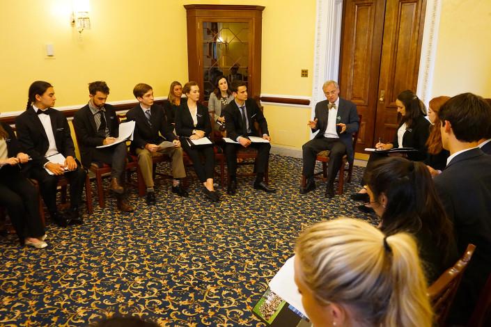Meeting with Congressman Blumenauer