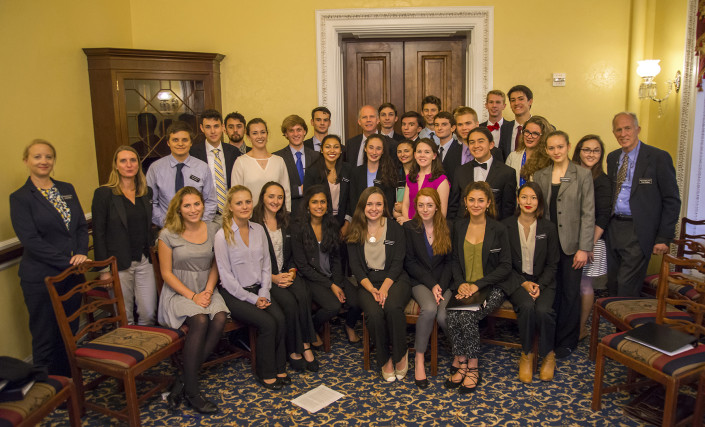 Mount Madonna students with Congressman Dan Donovan