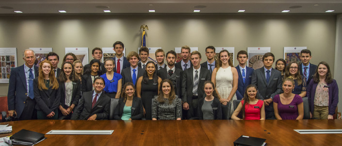 Mount Madonna students with Assistant Secretary Evan Ryan
