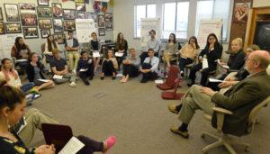 Meeting John Laird in class